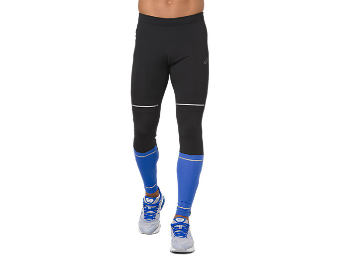 Front Top view of LITE-SHOW TIGHT, PERFORMANCE BLACK/ILLUSION BLUE