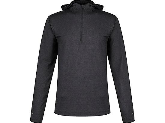 長袖針織連帽T恤 PERFORMANCE BLACK