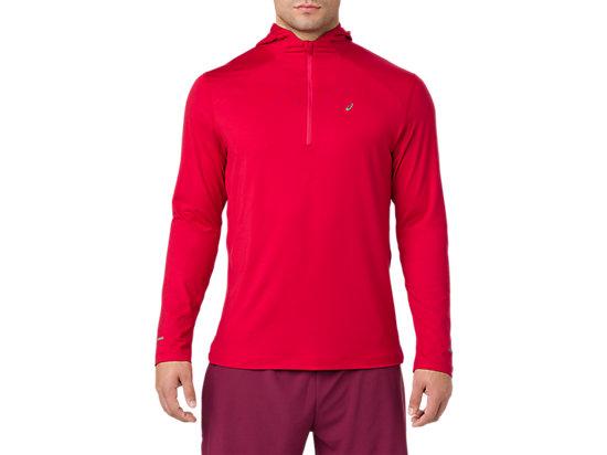 Sweat à capuche de running à manches longues pour hommes, SAMBA