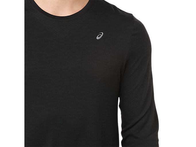 Alternative image view of SEAMLESS LS, PERFORMANCE BLACK