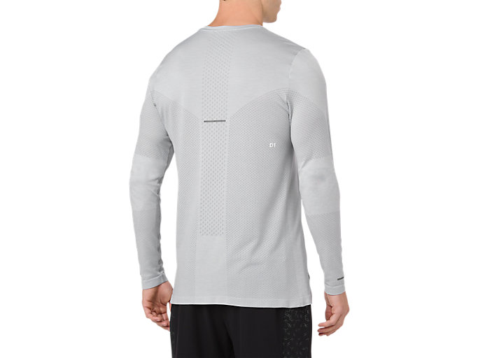 Back view of Seamless Long Sleeve