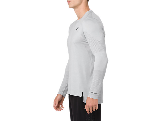 Side view of Seamless Long Sleeve