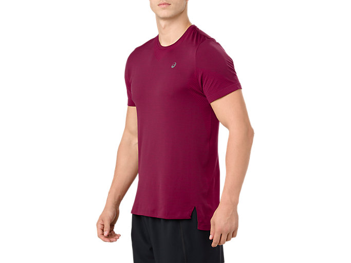 Alternative image view of SEAMLESS SS, CORDOVAN HEATHER