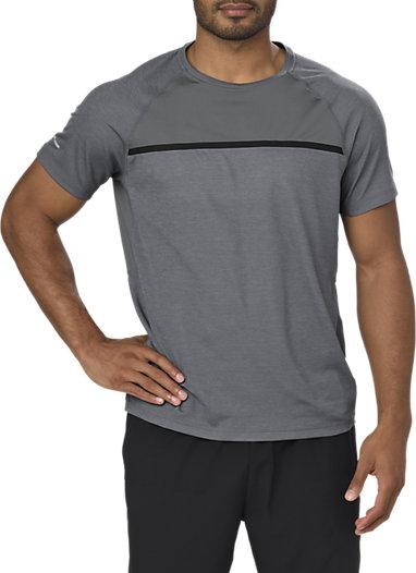 mens asics running t shirt