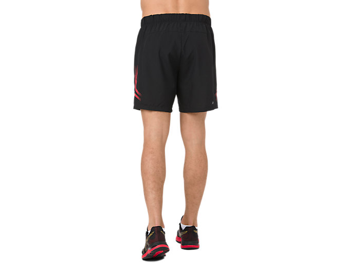 Back view of ICON SHORT, MP PERFORMANCE BLACK
