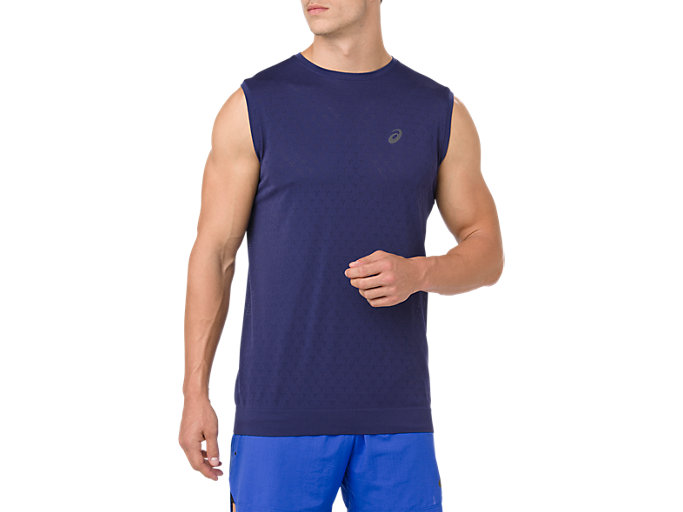 GEL-COOL SLEEVELESS, INDIGO BLUE