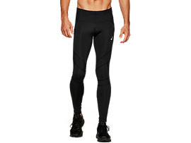 Front Top view of LEG BALANCE 2 TIGHT, PERFORMANCE BLACK