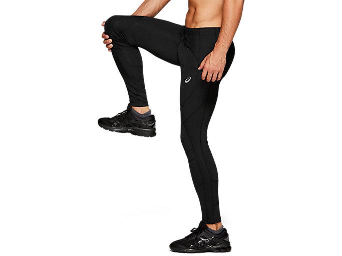 Side view of LEG BALANCE TIGHT 2, PERFORMANCE BLACK