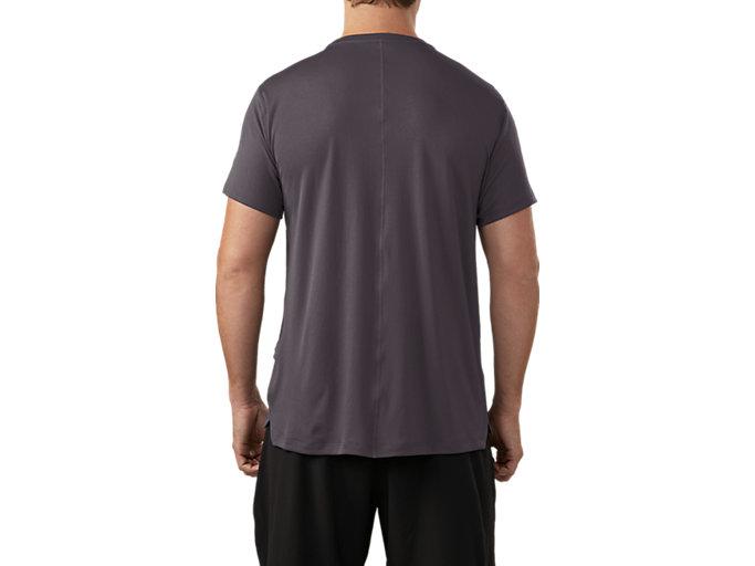 Men's SILVER GRAPHIC SS TOP #3 | DARK GREY | Short Sleeve