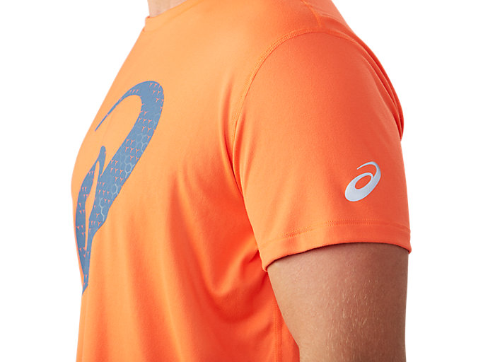 Alternative image view of SILVER GRAPHIC SS TOP #3, NOVA ORANGE