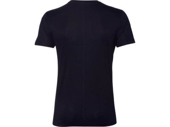 SILVER GRAPHIC SS TOP PERFORMANCE BLACK