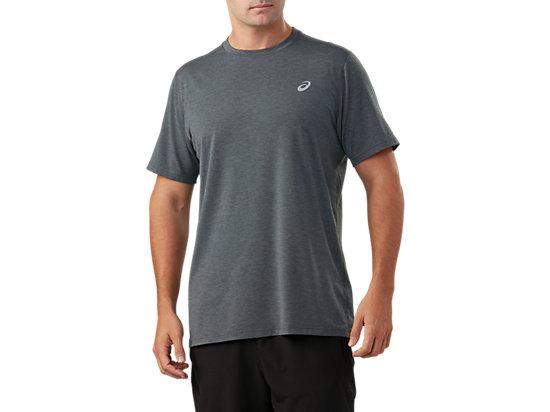 7aa805a023 Short Sleeve Performance Run Top | Men | Dark Grey Heather | ASICS US
