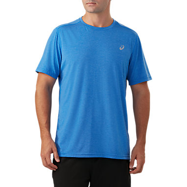 50919ab4c8 Short Sleeve Performance Run Top | Men | Illusion Blue Heather ...