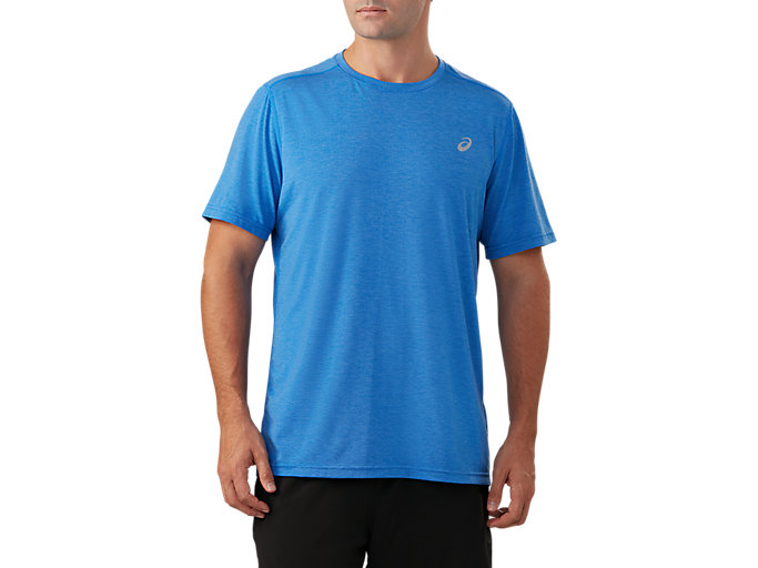 Front Top view of Short Sleeve Performance Run Top
