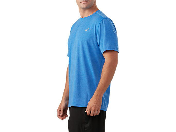 Side view of Short Sleeve Performance Run Top