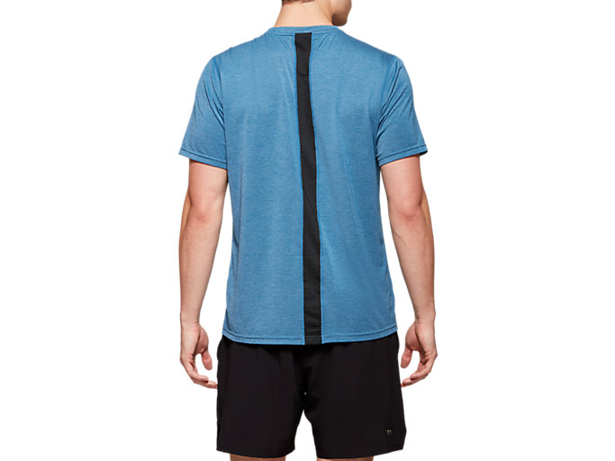 Back view of Short Sleeve Performance Run Top