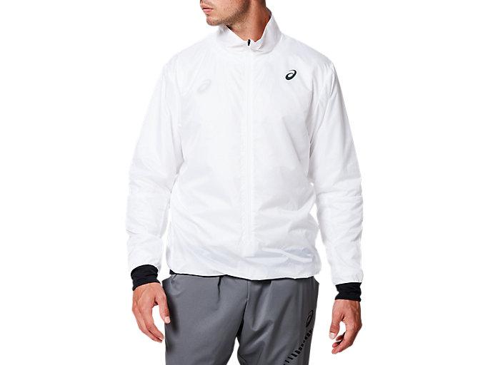 ランニングパッカブルプルオーバージャケット, ブリリアントホワイト