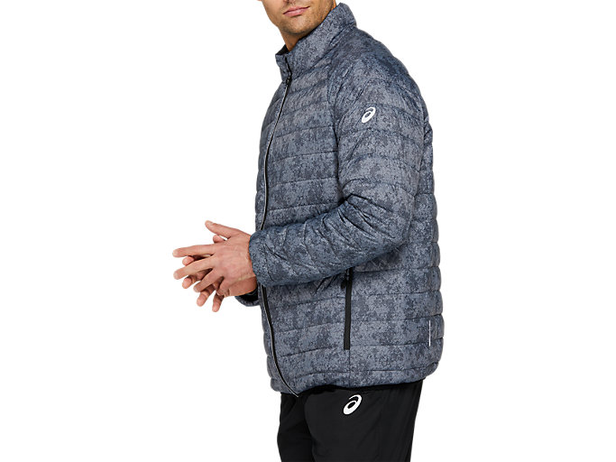 Side view of ASICS Down Puffer Jacket