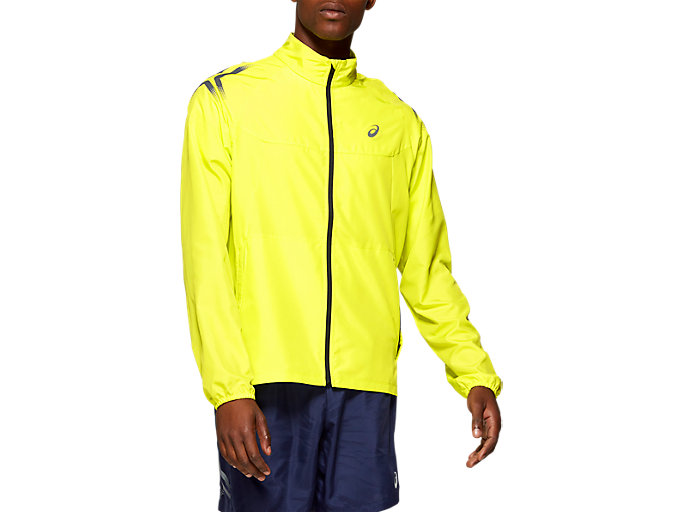 Front Top view of ICON JACKET, SOUR YUZU