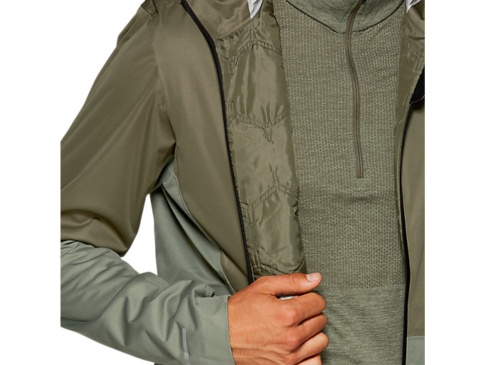 Alternative image view of WINTER ACCELERATE JACKET, MANTLE GREEN / LICHEN GREEN