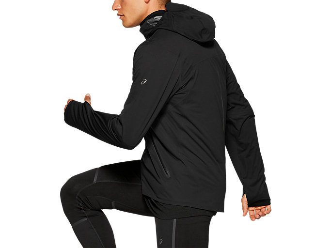 Side view of Metarun Winter Jacket