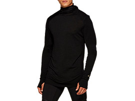 Front Top view of Metarun Long Sleeve Top
