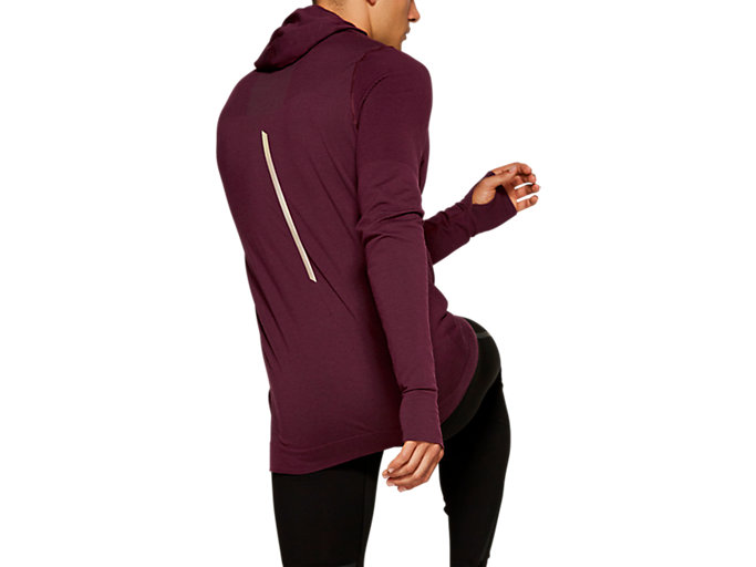 Back view of Metarun Long Sleeve Top