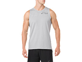 COOL SINGLET BM, MID GREY
