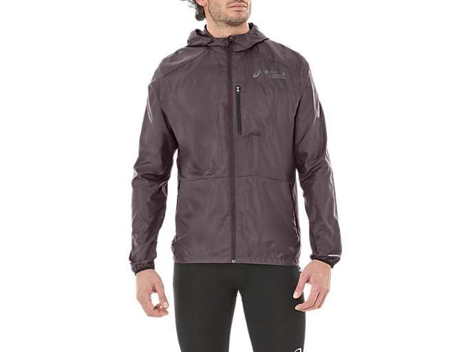 PACKABLE JACKET BM, DARK GREY/PERFORMANCE BLACK