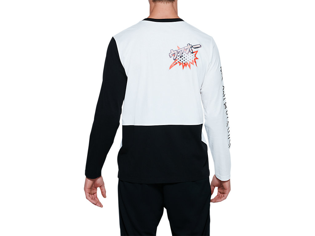 ASICS-Tiger-Men-039-s-Long-Sleeve-T-Shirt-Clothes-2011A521 thumbnail 8