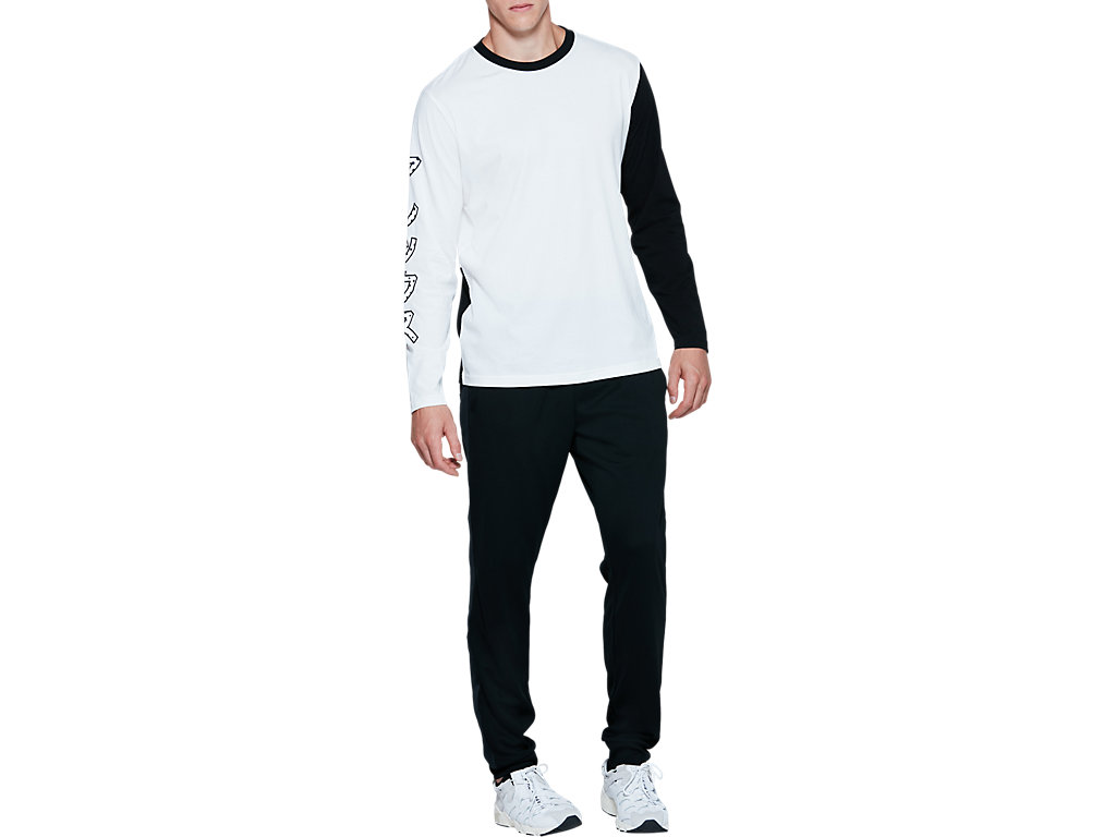 ASICS-Tiger-Men-039-s-Long-Sleeve-T-Shirt-Clothes-2011A521 thumbnail 9