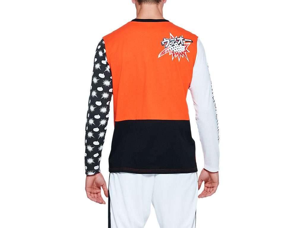ASICS-Tiger-Men-039-s-Long-Sleeve-T-Shirt-Clothes-2011A521 thumbnail 20