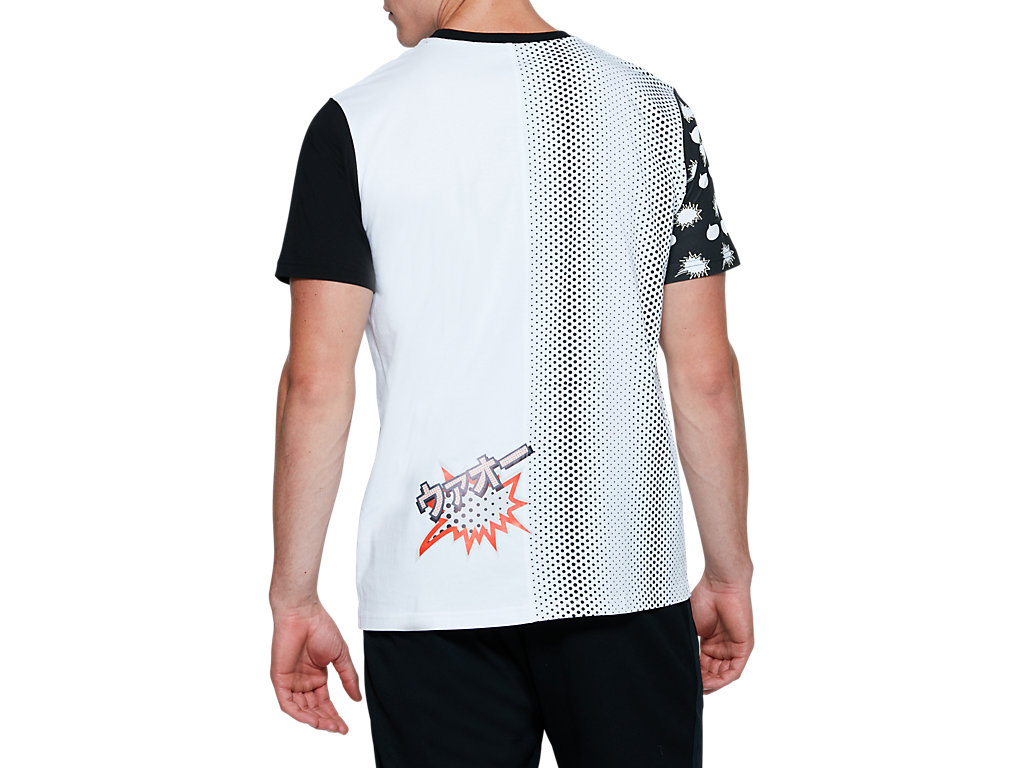 ASICS-Tiger-Men-039-s-Short-Sleeve-T-Shirt-Clothes-2011A522 thumbnail 5