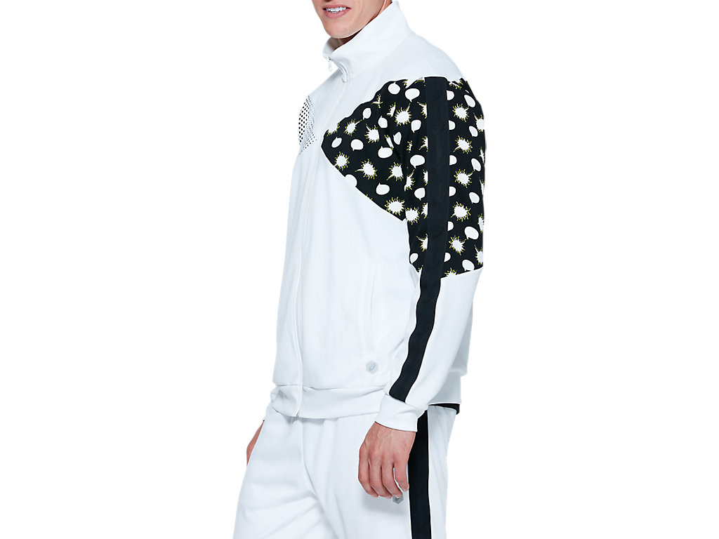 ASICS-Tiger-Men-039-s-Track-Jacket-Clothes-2011A525 thumbnail 9