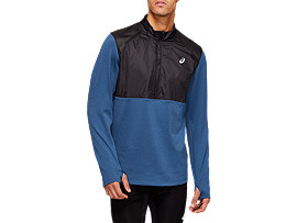 Front Top view of THERMO STORM Half-Zip