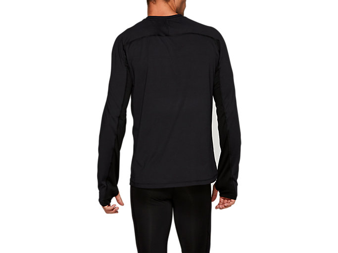 Back view of THERMOPOLIS PLUS LS, PERFORMANCE BLACK