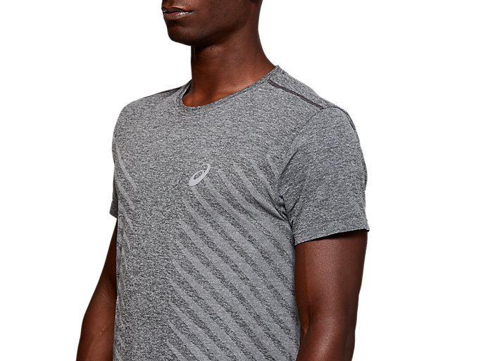Alternative image view of SEAMLESS SS TOP, DARK GREY HEATHER