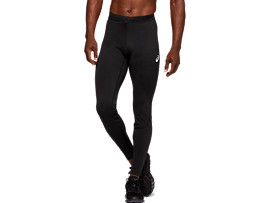 Front Top view of WINTER TIGHT, PERFORMANCE BLACK