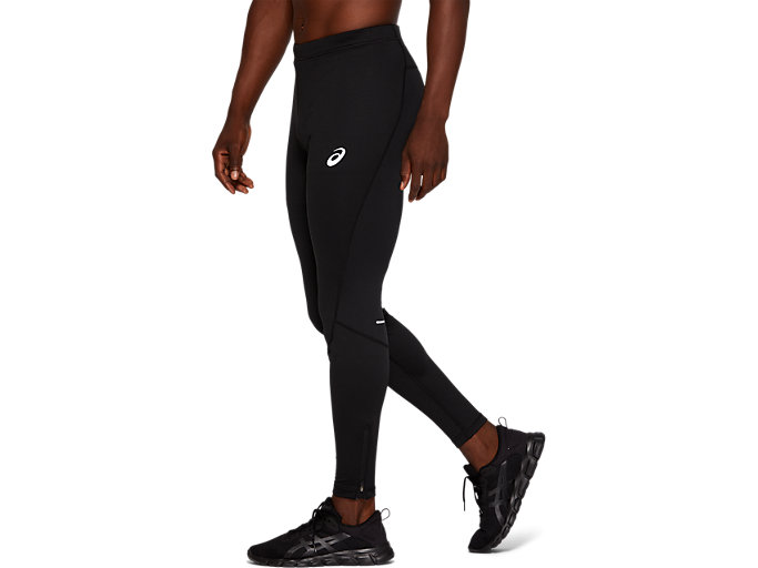 Side view of WINTER TIGHT, PERFORMANCE BLACK