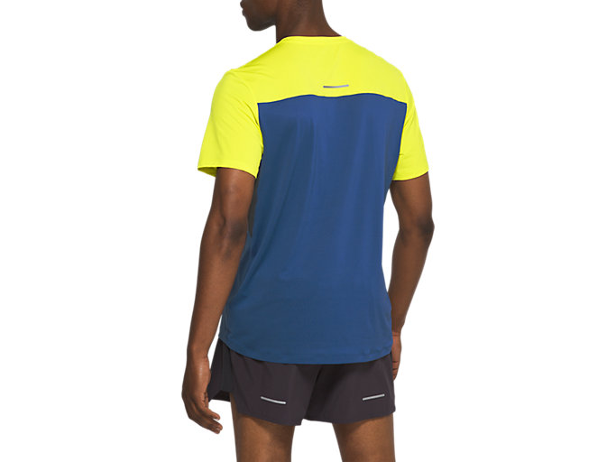 Back view of Race Short Sleeve Top