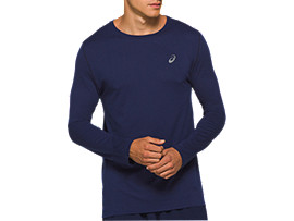 Front Top view of TOKYO SEAMLESS LS, PEACOAT