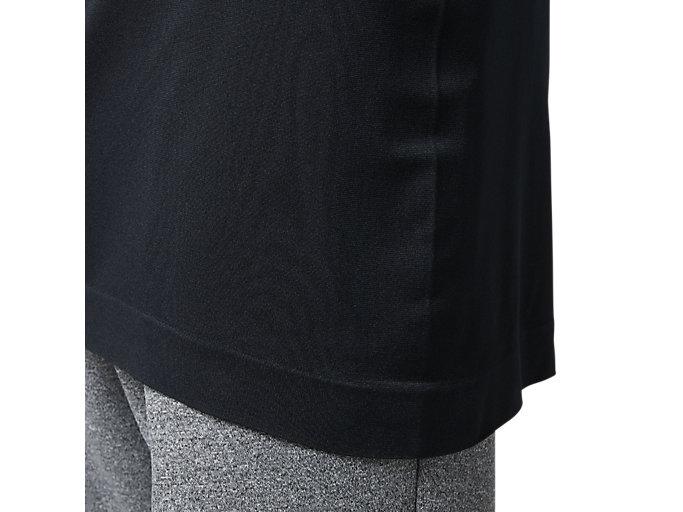 Alternative image view of ランニングTKシームレスショートスリーブトップ, パフォーマンスブラック