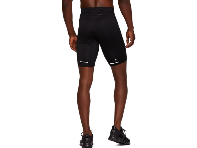 Back view of RUNNING SPRINTER, PERFORMANCE BLACK