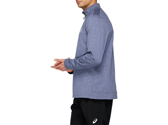 Side view of COLD WEATHER HALF ZIP