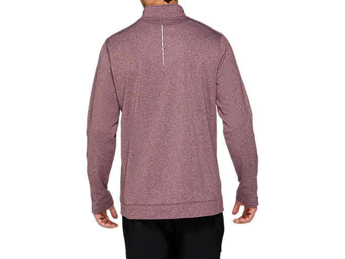 Back view of COLD WEATHER HALF ZIP