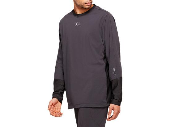 RCxA跑步套頭衫 GRAPHITE GREY/GRAPHITE GREY