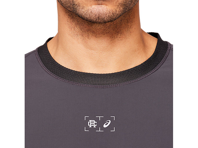 Alternative image view of RCxA M HYBRID RUNNING CREWNECK