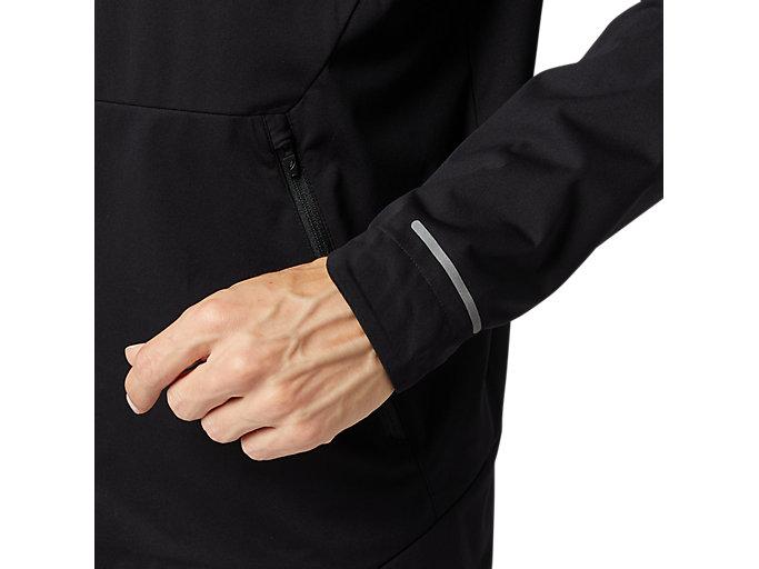 Alternative image view of ランニングジャケット, パフォーマンスブラック