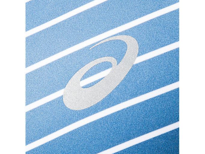 Alternative image view of ランニングTKショートスリーブトップ, ブリリアントホワイト×グランドシャーク