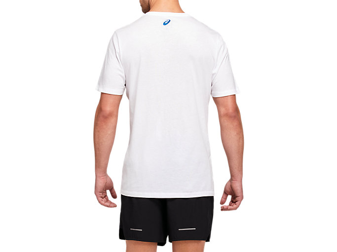 Back view of LA Marathon Crew Short Sleeve